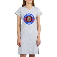 American Eskimo Dog Women's Nightshirt