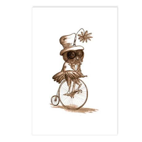 Sir Owlfred Postcards (Package of 8)