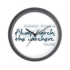 Gibbs' Rules #35 - Always Watch the Watchers Wall