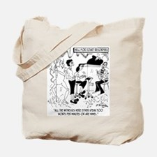 Hell for Court Recorders Tote Bag