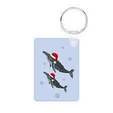 Santa - Whale Keychains