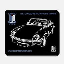 Toronto Triumph Club Spitfire Mousepad