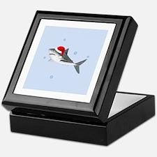 Christmas - Santa - Shark Keepsake Box