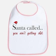 Santa called... Bib
