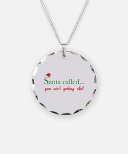 Santa called... Necklace