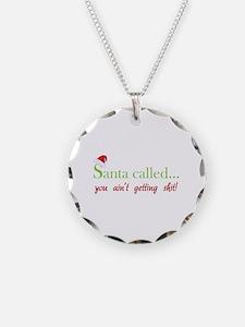 Santa called... Necklace