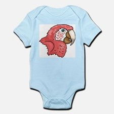 Pink Parrot Infant Bodysuit