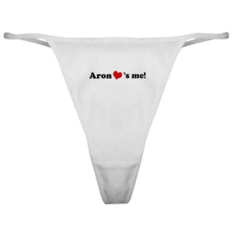 Aron Loves Me Classic Thong