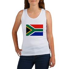 South Africa Flag Women's Tank Top