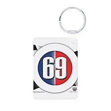 69 Car logo Keychains
