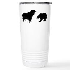 Bull bear Stainless Steel Travel Mug