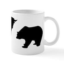 Bull bear Mug