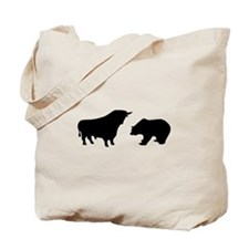 Bull bear Tote Bag