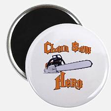 Chain Saw Hero Chainsaw Magnet