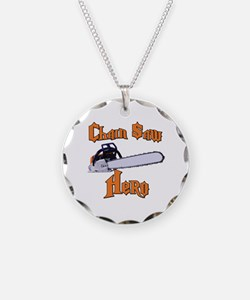 Chain Saw Hero Chainsaw Necklace