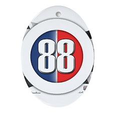 Car Logo 88 Ornament (Oval)