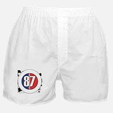 87 Car Logo Boxer Shorts