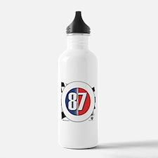 87 Car Logo Water Bottle