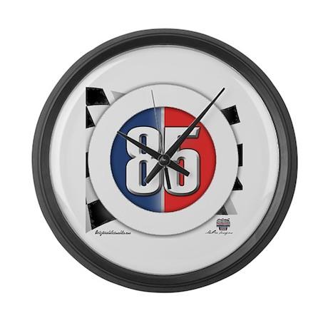 85 Car Logo Large Wall Clock