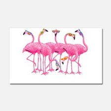 Cool Flamingoes Car Magnet 20 x 12