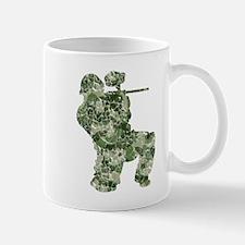 Worn, Camo Paintball Mug