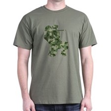 Worn, Camo Paintball T-Shirt