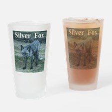 Silver Fox over 50 Drinking Glass