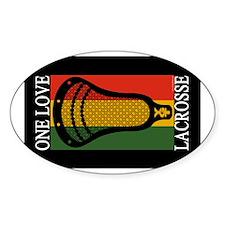 Lacrosse OneLove Sticker (Oval)