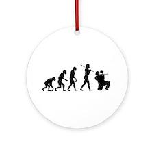 Paintball Evolution Ornament (Round)