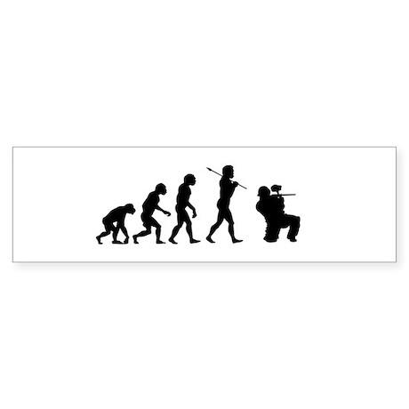 Paintball Evolution Sticker (Bumper)