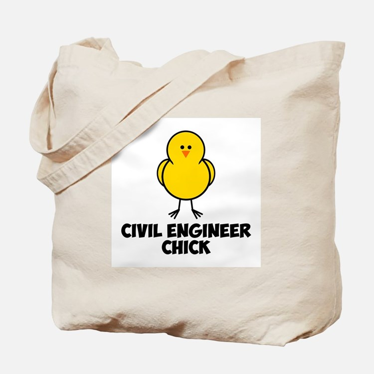 Civil Engineer Chick Tote Bag