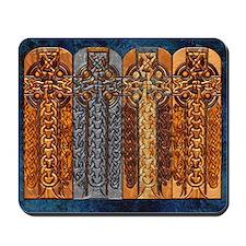 Harvest Moon's Viking Crosses Mousepad