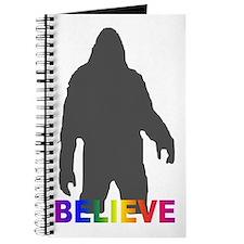 Believe in Bigfoot Journal