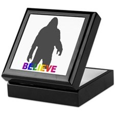 Believe in Bigfoot Keepsake Box