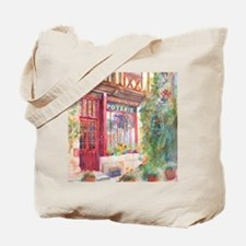 French Store Front Street Scene Tote Bag