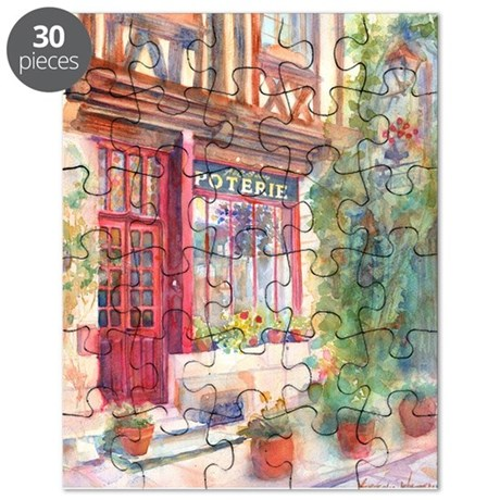 French Store Front Poterie European Puzzle