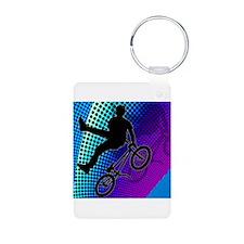 Cool Bicyclist Keychains