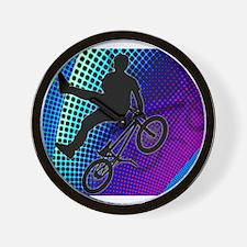 Cool Mens cycling Wall Clock
