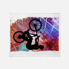 Cute Mens cycling Throw Blanket