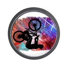 Cute Mens bicycle Wall Clock