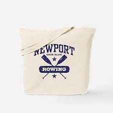Newport Rhode Island Rowing Tote Bag
