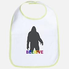 Believe in Bigfoot Bib