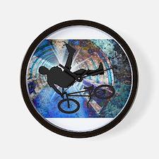 Mens cycling Wall Clock
