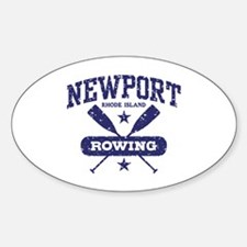 Newport Rhode Island Rowing Decal