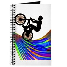 Funny Mens bicycle Journal