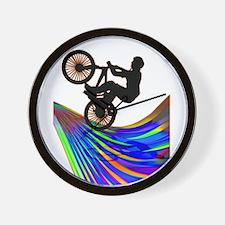 Funny Mens cycling Wall Clock
