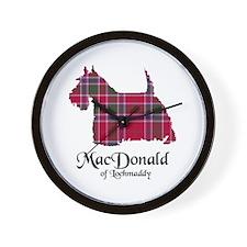 Terrier - MacDonald of Lochmaddy Wall Clock