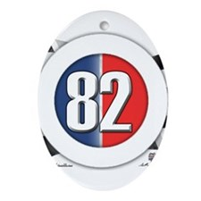 82 Car Logo Ornament (Oval)