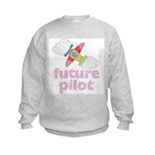 Future Pilot Girl Sweatshirt