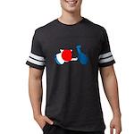 Lava Color Burst Performance Dry T-Shirt